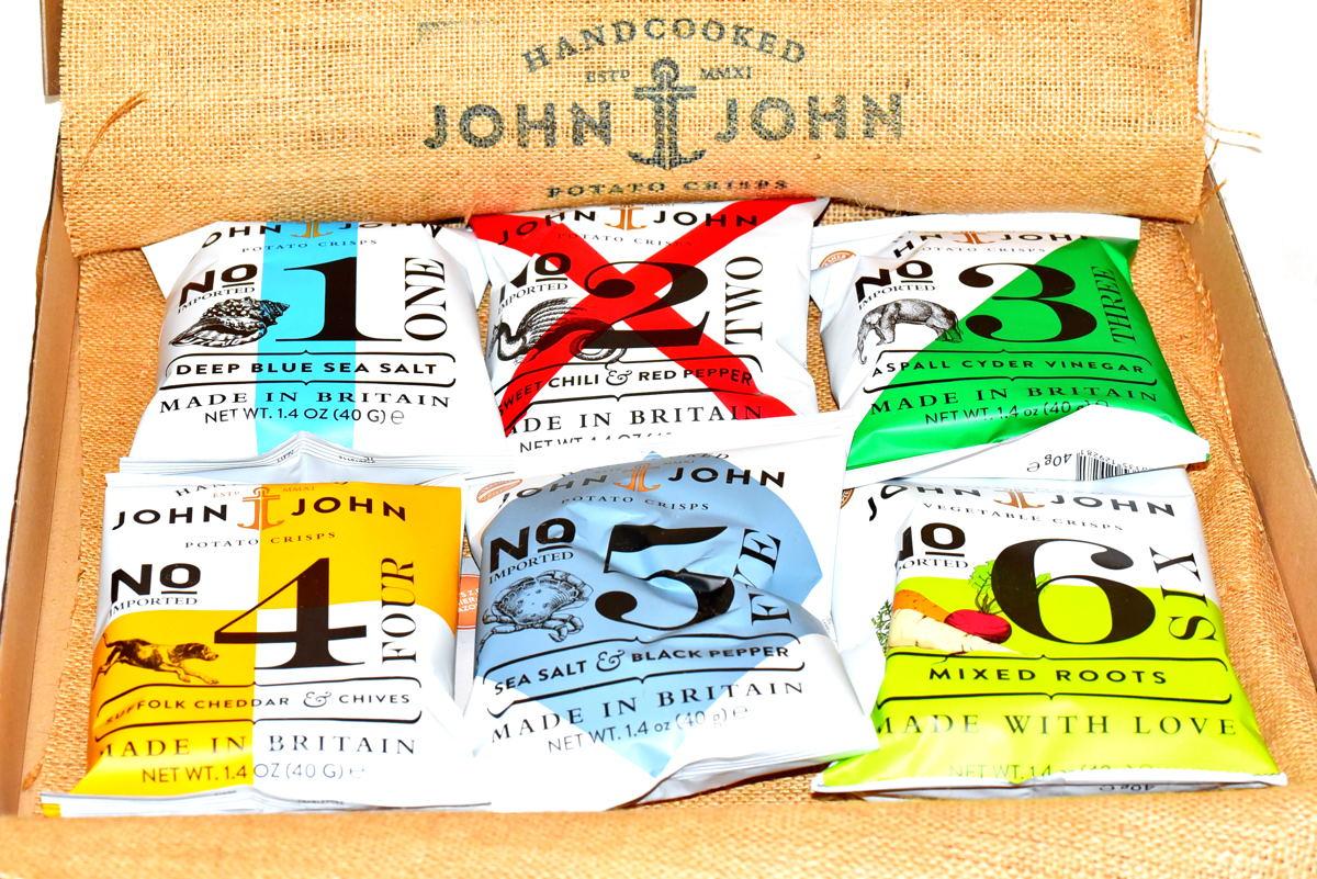 John & John Crisps