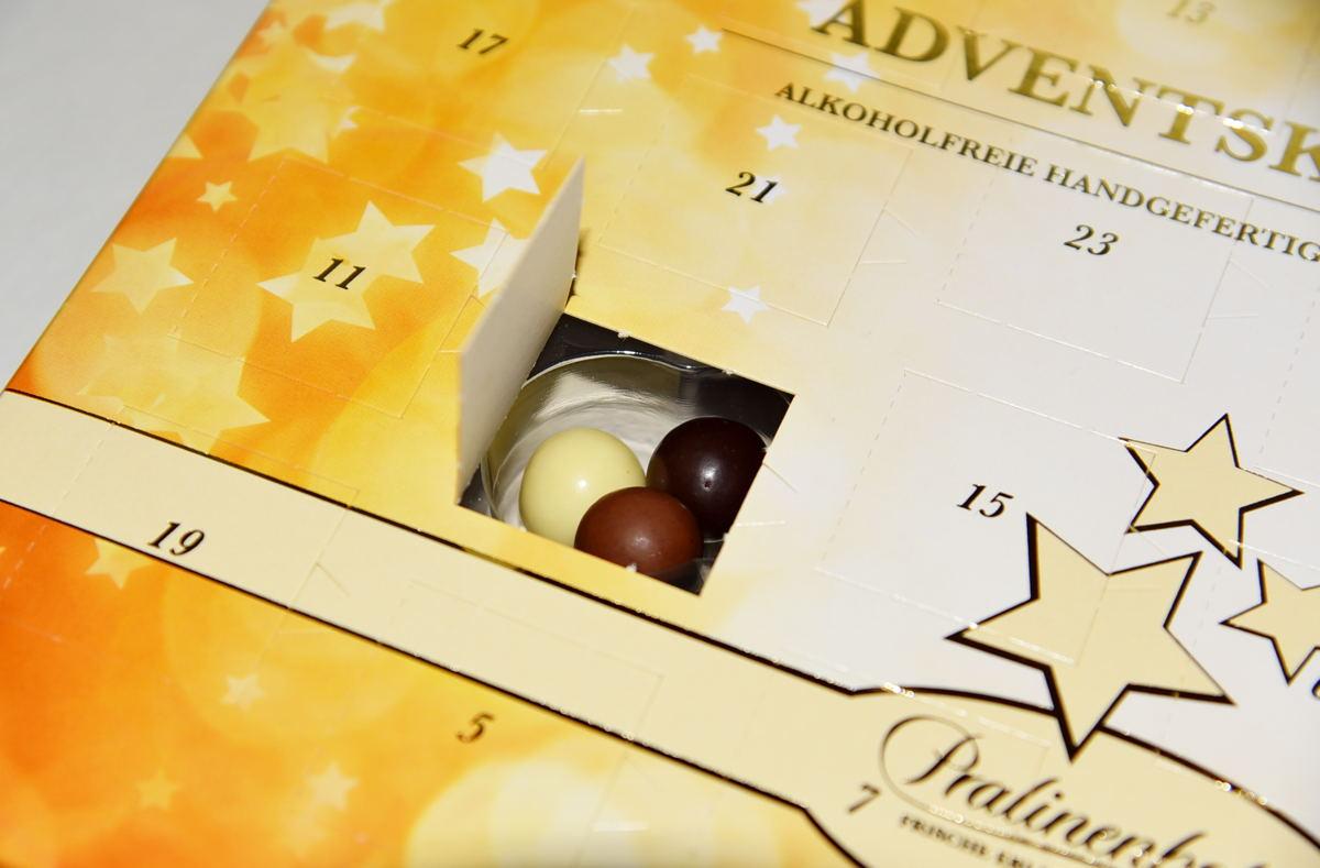 Pralinenbote Adventskalender