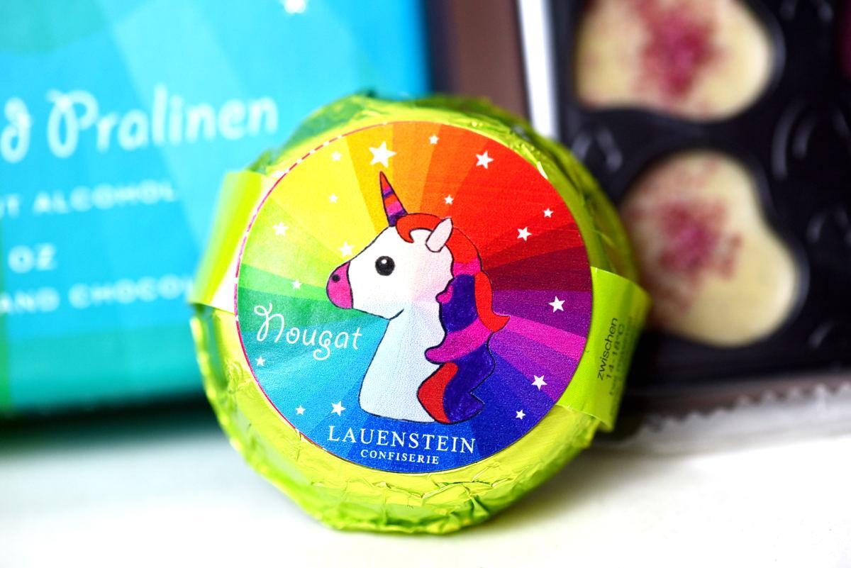 Einhorn-Kollektion der Confiserie Lauenstein