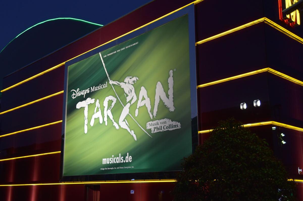 Disneys Musical Tarzan im Metronom Theater Oberhausen
