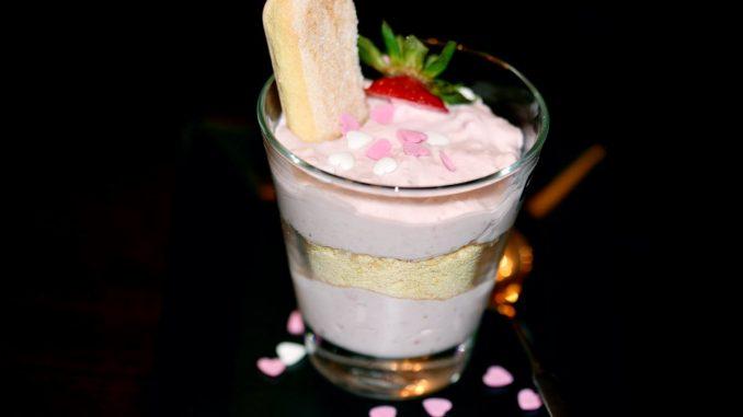 Erdbeer-Mascarpone Creme