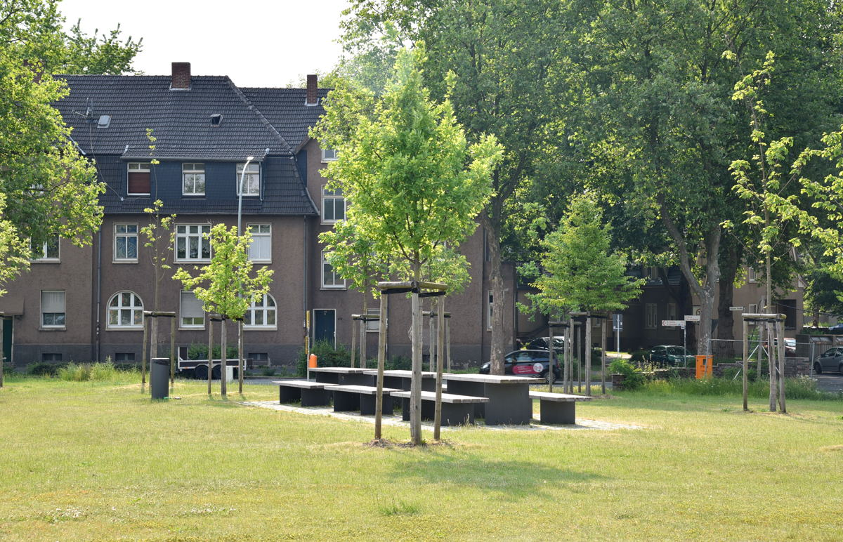 Bergpark in Dinslaken-Lohberg