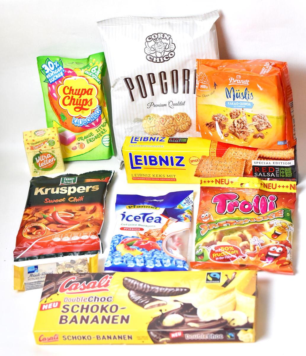 Die Neuheiten-Box von World of Sweets
