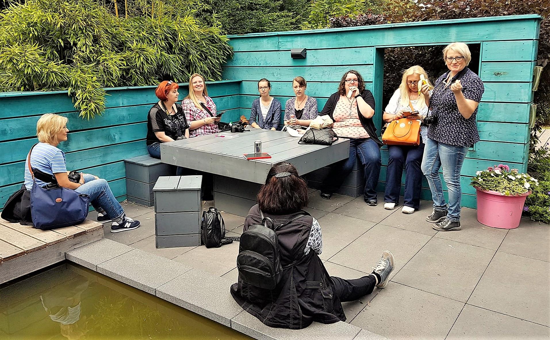 Blogger treffen Summer Feeling 2017 im Grugapark Essen