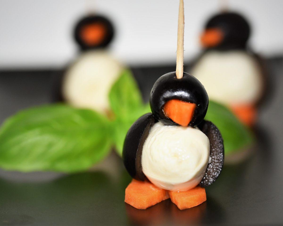 Herzhafte Pinguine