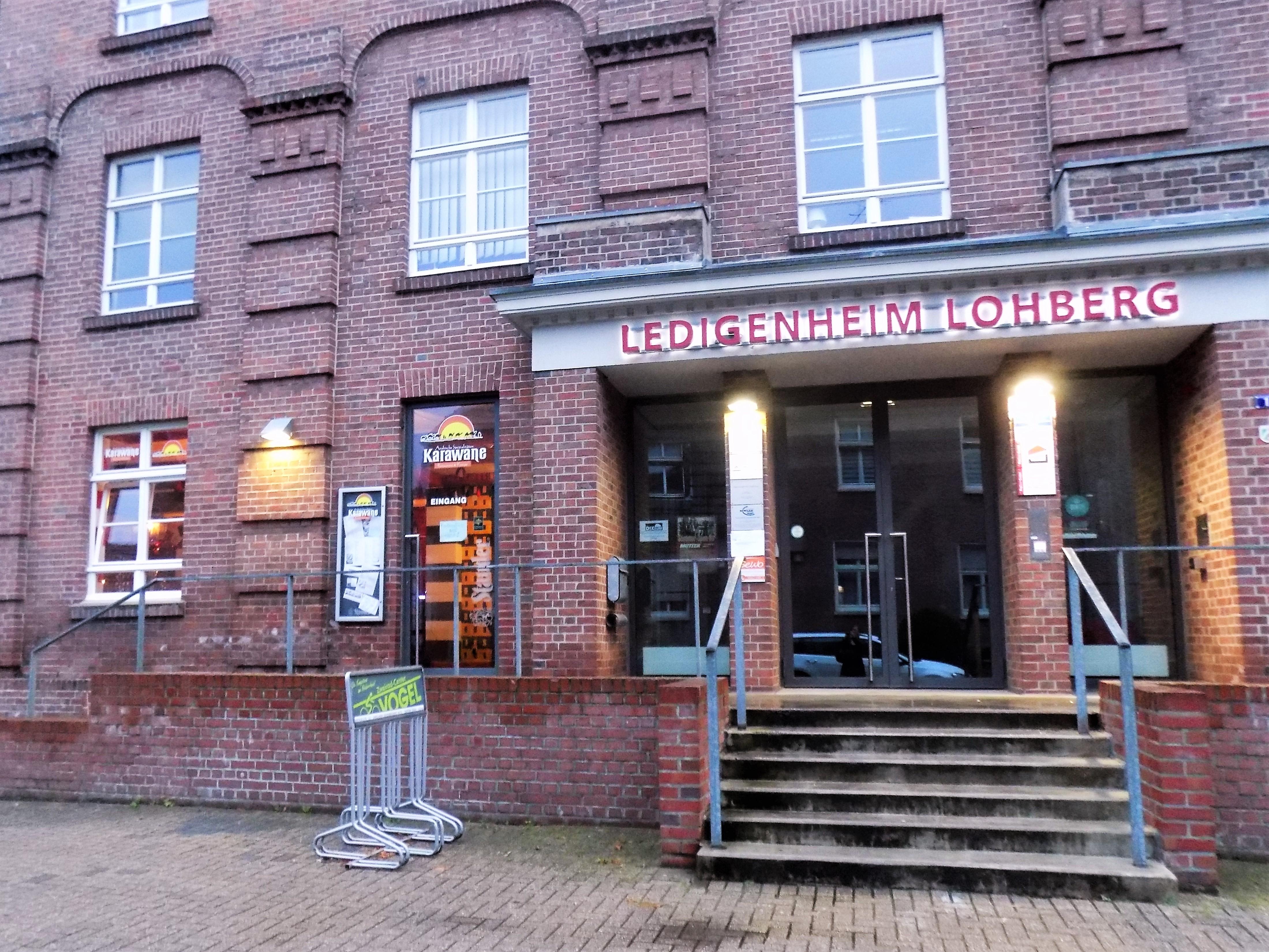 Das Restaurant Karawane in Dinslaken Lohberg
