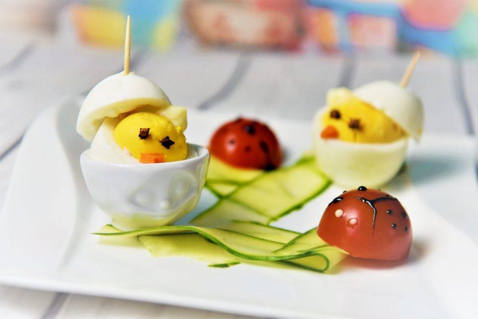 Küken aus Eiern