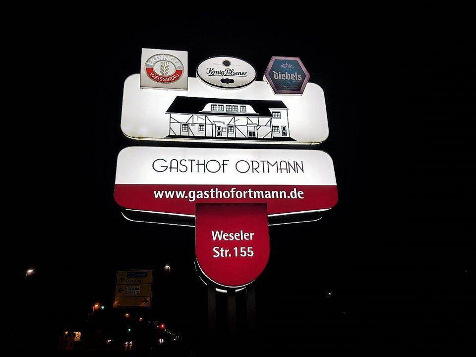 Gasthof Ortmann in Dinslaken