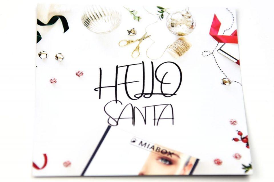 Weihnachtsedition Hello Santa by Miabox