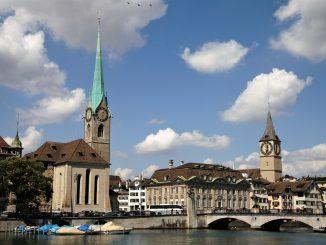 Zürich - eine beschauliche Stadt in der Schweiz