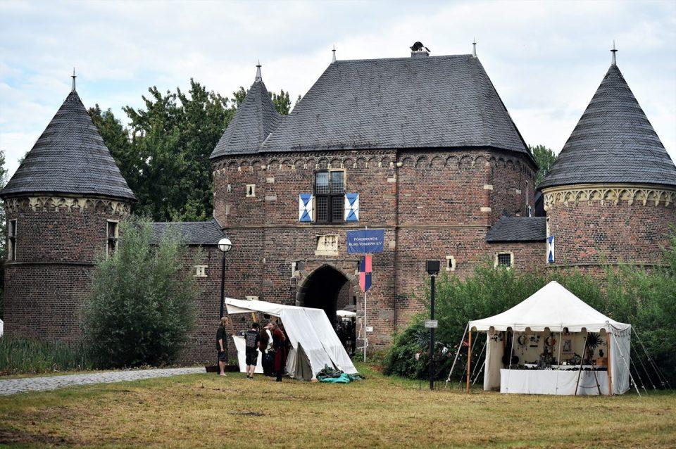 Ritterfest auf Burg Vondern