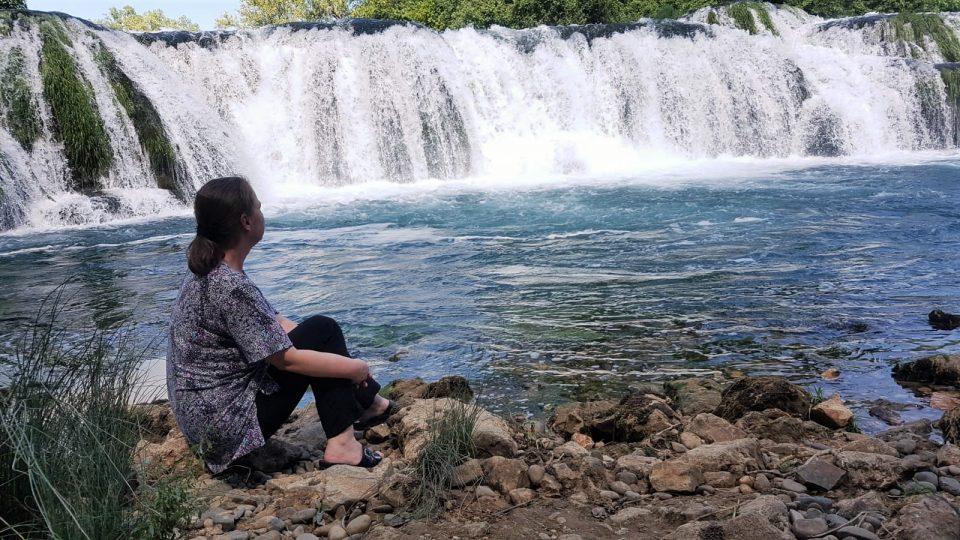 Kocusa Wasserfall in Veljaci