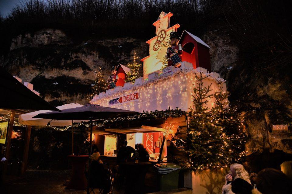 Weihnachtsmarkt Fluweelengrotte
