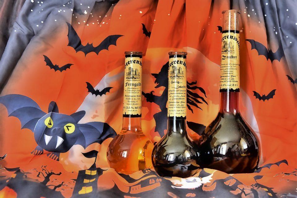 Halloween mit Beerenweine